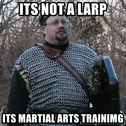 Steel Fighter - its not a larp its martial arts trainimg