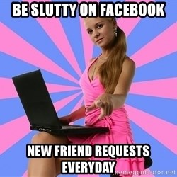 Typical Photoshoper - Be slutty on facebook new friend requests everyday