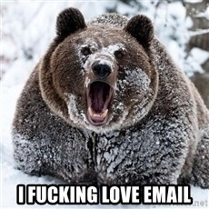 Cocaine Bear - I FUCKING LOVE EMAIL