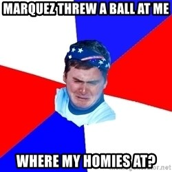 US Soccer Fan Problems - Marquez threw a ball at me where my homies at?