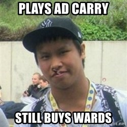 Good Guy Reginald - plays ad carry still buys wards