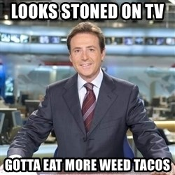 Chistacos Matias Prats - Looks stoned on tv     gotta eat more weed tacos