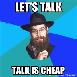 Barry The Jew - let's talk talk is cheap