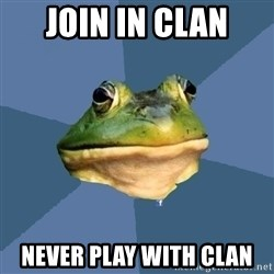 FACEBOOK FROG - Join in clan never play with clan