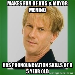 Opie is suspicious - makes fun of vos & mayor menino has pronounciation skills of a 5 year old