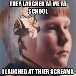 PTSD Clarinet Boy - they laughed at me at school i laughed at thier screams