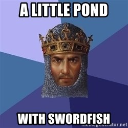 Age Of Empires - A LITTLE POND WITH SWORDFISH