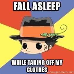 Reborn Logic  - FALL ASLEEP while TAKING OFF MY CLOTHES