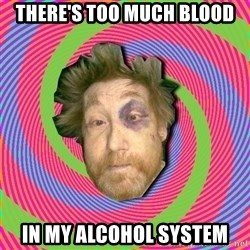 Russian Boozer - there's too much blood in my alcohol system