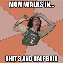 Scared Bekett - Mom walks in... shit 3 and half brix