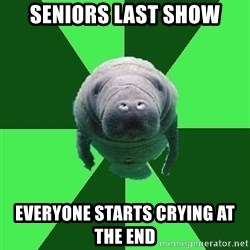 Marching Band Manatee - Seniors Last Show Everyone starts crying at the end