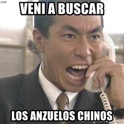 Chinese Factory Foreman - Veni a buscar los anzuelos chinos