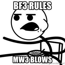 Cereal Guy - BF3 Rules MW3 Blows