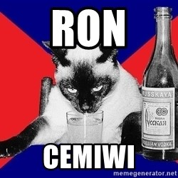 Alco-cat - Ron cemiwi
