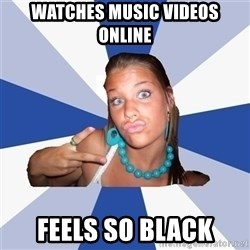 Vkontakte Girl - Watches music videos online feels so black