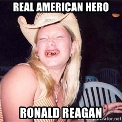 Reagan Fangirl - Real American Hero Ronald Reagan