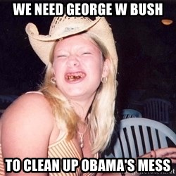 Reagan Fangirl - We Need George W Bush To Clean Up Obama's Mess