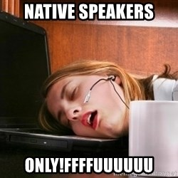Freelancer  - Native speakers only!ffffuuuuuu