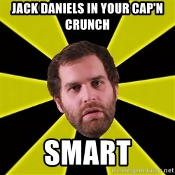 Epic Meal Time - jack daniels in your cap'n crunch smart