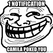 You Mad Bro - 1 notification camila poked you