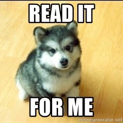 Baby Courage Wolf - read it for me