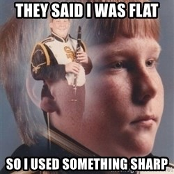 PTSD Clarinet Boy - They said I was flat So I used something sharp
