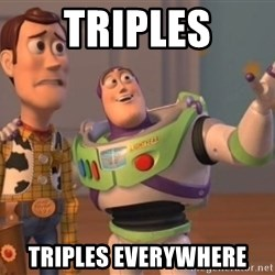 Tseverywhere - TRIPLES TRIPLES EVERYWHERE