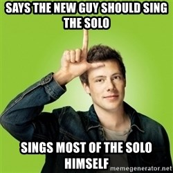 Hypocritical-Finn - Says the new guy should sing the solo sings most of the solo Himself