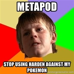 Angry School Boy - Metapod Stop using harden against my pokemon