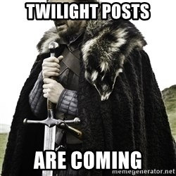 Ned Stark - twilight posts are coming