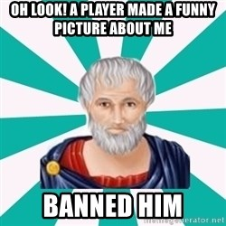 Plato eRepublik - OH look! a player made a funny picture about me banned him