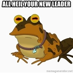 hypnotoad - All heil your new leader