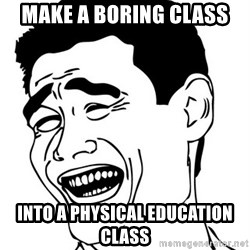 Yao Ming - Make a boring class into a physical education class