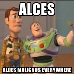 X, X Everywhere  - Alces alces maligNos everywhere