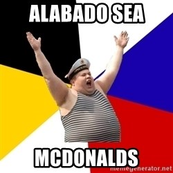 Patriot - alabado sea  mcdonalds