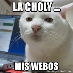 Serious Cat - la choly ... mis webos
