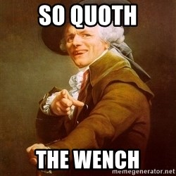 Joseph Ducreux - So quoth the wench