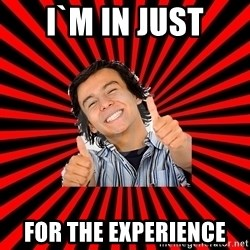 Bad Luck Chuck - I`m in just for the experience
