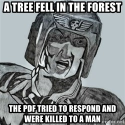 PDF Trooper - A tree fell in the forest The pdf tried to respond and were killed to a man