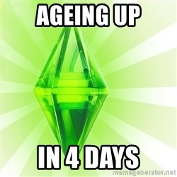 Sims - Ageing Up in 4 days