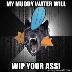 Insanity Wolf - My muddy water will wip your ass!