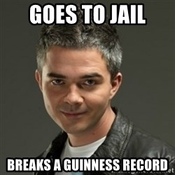 Gaylord - Goes to jail Breaks a guinness record