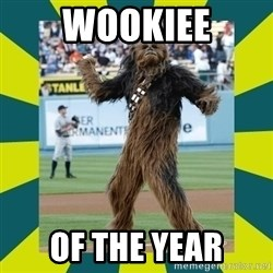 chewbacca - wookiee of the year