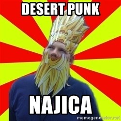 Powermad Podcaster - desert punk najica