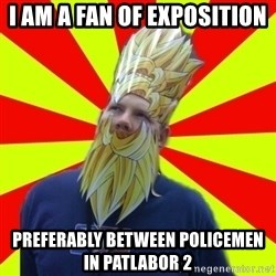 Powermad Podcaster - I am a fan of exposition preferably between policemen in patlabor 2