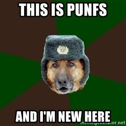 army-dog - This is punfs  and i'm new here