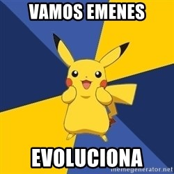 Pokemon Logic  - vamos emenes evoluciona