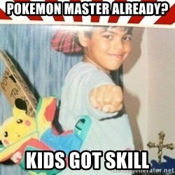 Pokemon Prodigy - pokemon master already? kids got skill