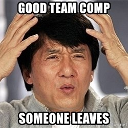 Jackie Chan - Good Team COMP SOMEONE LEAVES