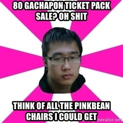 Raging Gamer Geek - 80 GACHAPON TICKET PACK SALE? OH SHIT think of all the pinkbean chairs i could get